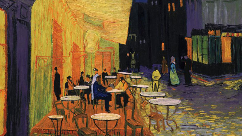 Arles Cafe Terrace at Night, 2017
